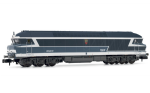 "Arnold HN2384 (N 1:160) Diesel locomotive CC 72031, blue with ""noodle"" logo, SNCF"